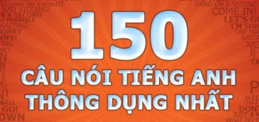 150 Cau noi tieng anh thong dung