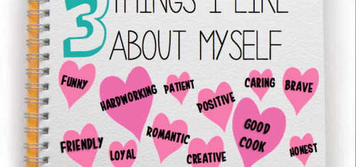 3 things I like about myself