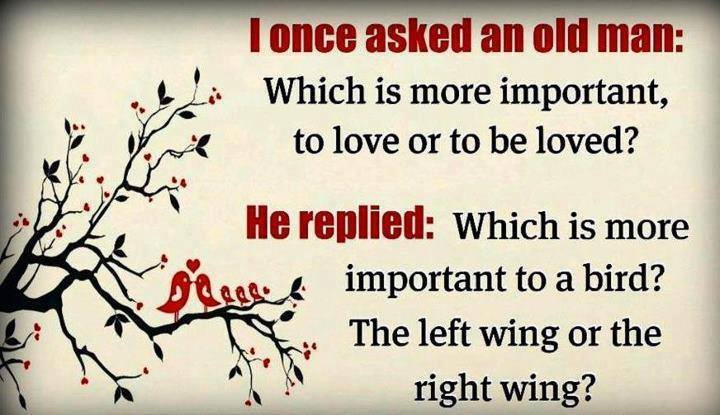 I once ask . . .