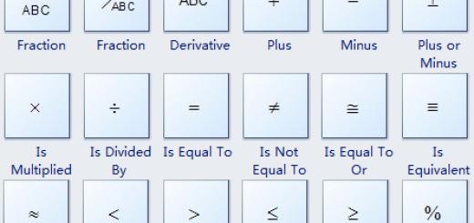 Mathematical Symbol